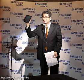 JungLak Jung - președintele Samsung România prezintă Galaxy Tab