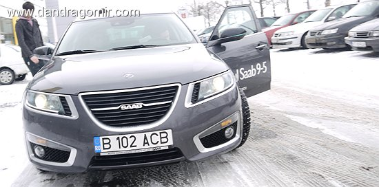 Saab 9-5 Sedan Aero test drive