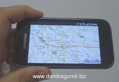 Samsung Galaxy S - GPS