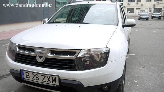 Dacia Duster drive test