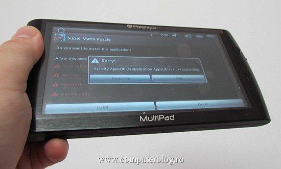 Prestigio MultiPad - eroare