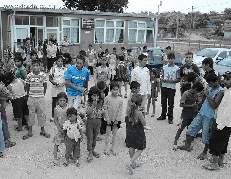 Făurei - primul voluntar UNICEF
