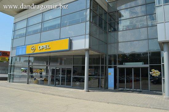 Union Motors, dealer Opel