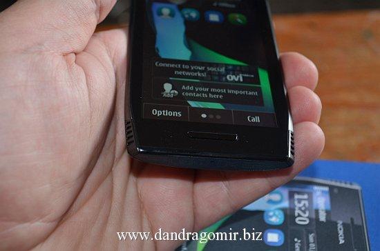 Nokia X7 buton principal