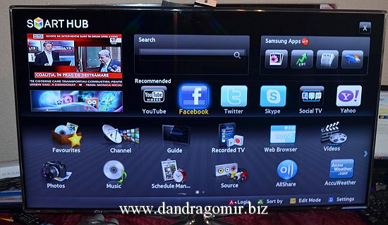 Samsung Smart TV 3D Full HD