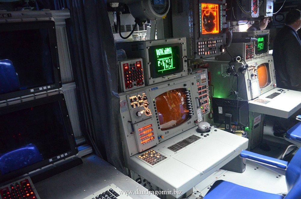 USS Monterey - centrul de comandă
