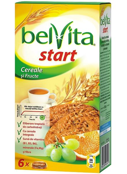 Belvita Start - cereale si fructe, favoritii mei