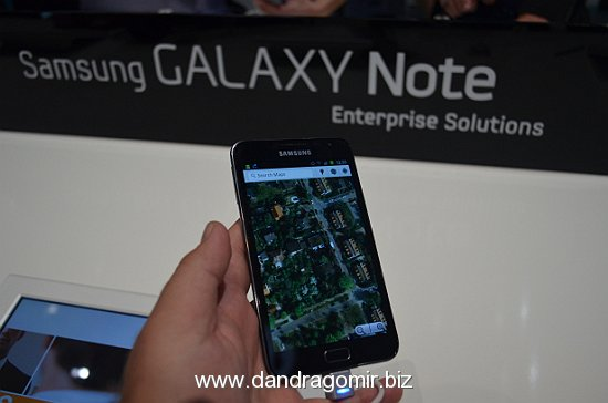 Galaxy Note hands on