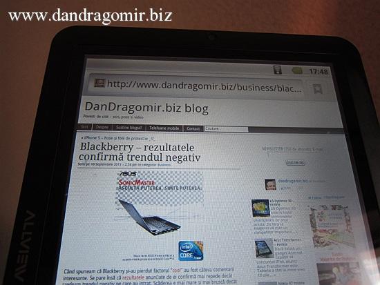 Allview Alldro 2 - browser