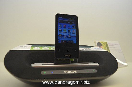 Philips GoGear Connect 3 + sistem de sunet