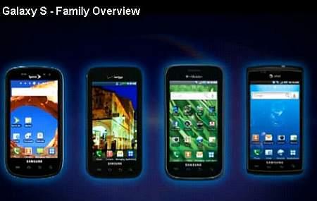 Familia Samsung Galaxy