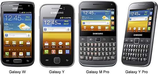 Noile telefoane Samsung Galaxy