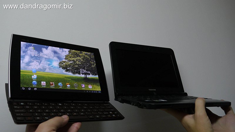 Asus Slider vs netbook