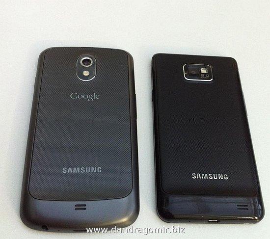 Samsung Galayx Nexus versus Galaxy SII