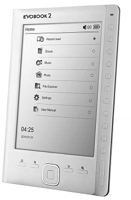 Evobook 2 ebook Reader