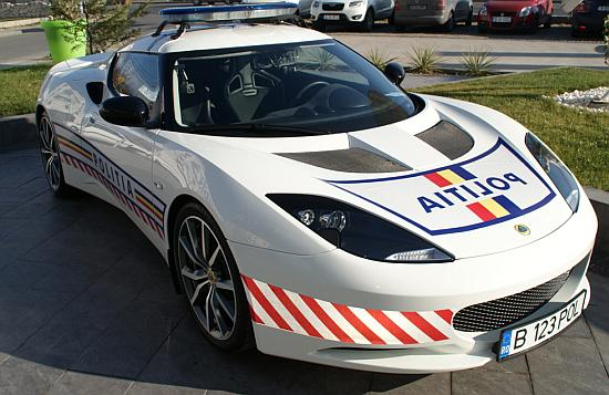 Lotus Evora S - politie
