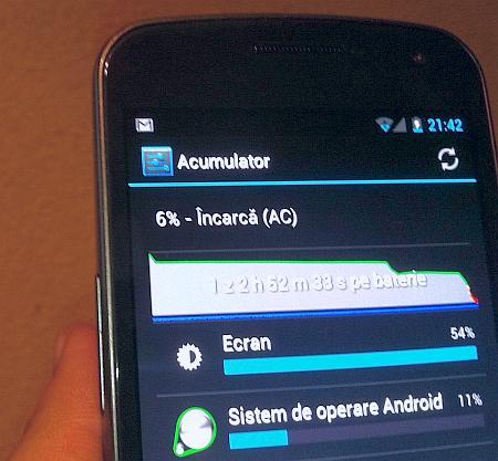 Samsung Galaxy Nexus - baterie