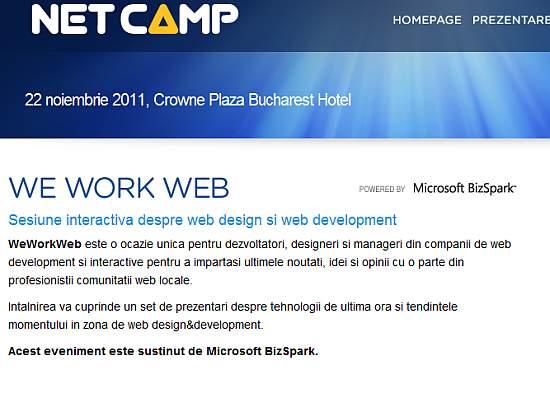 We Work Web - Netcamp