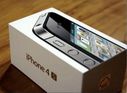 iPhone 4S box