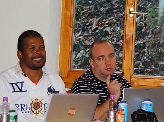 Cabral & Dan Dragomir la Biz SMS Camp 2012 - zoso.ro