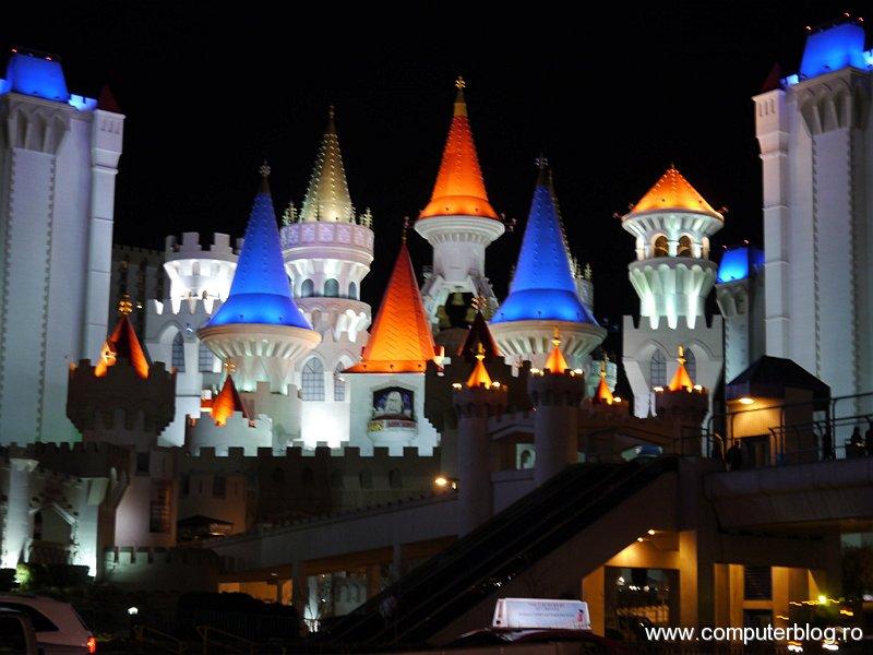 Las Vegas, Excalibur by night