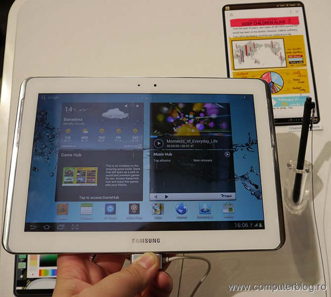 Samsung Galaxy Note - tablet