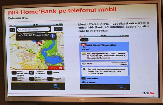 Fast Pay si Home Bank pentru smartphone - ING Bank Romania