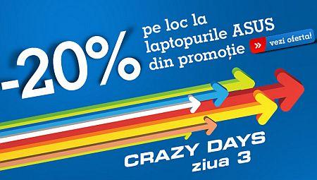 crazy days Asus