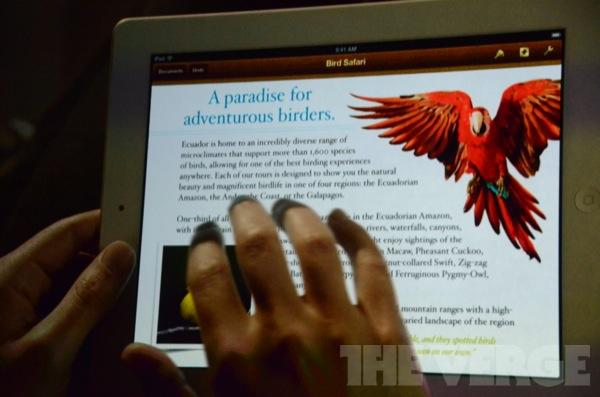 iPad ebooks Apple a lansat oficial noul iPad