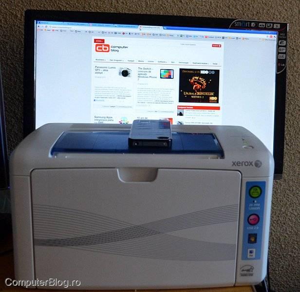 Xerox laser alb negru
