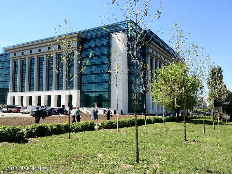Biblioteca Nationala - bd. Unirii, Bucuresti