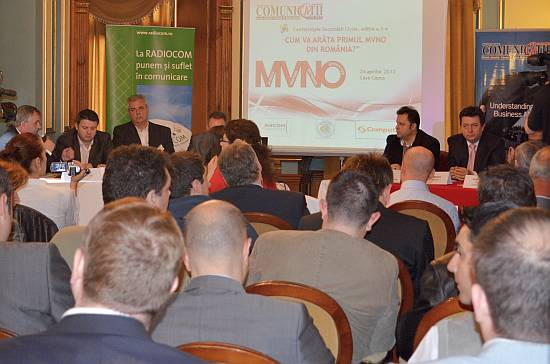 MVNO - eveniment Comunicatii Mobile 2012