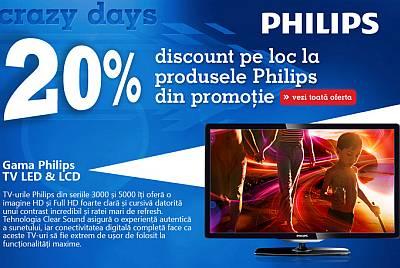 TV Philips la oferta