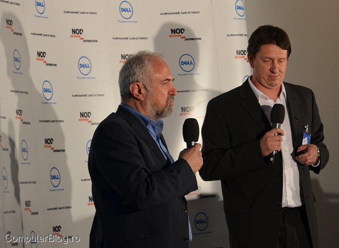 Dragoș Mateescu, manager SEEurope și David Spruyt, manager pe CEE la Dell