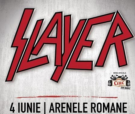 concert Slayer - Arenele Romane - 4 iunie