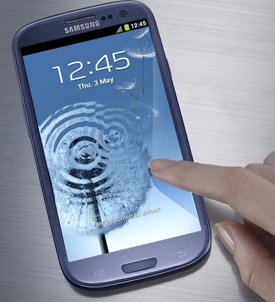 Samsung Galaxy S3 via the Verge