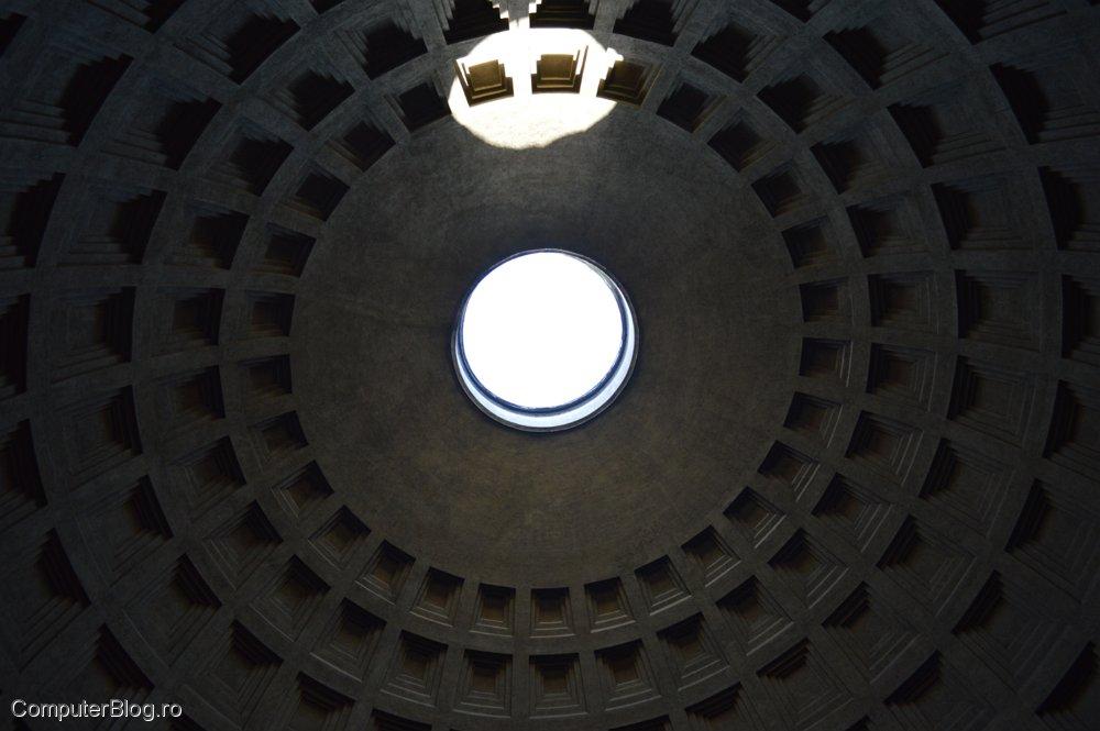 Panteon - tavanul