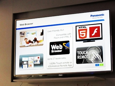 Panasonic Viera Smart TV