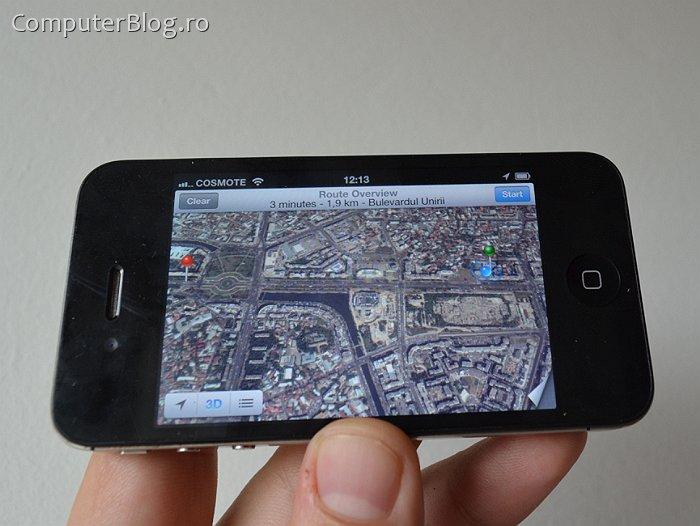 iOS 6 Maps Satellite