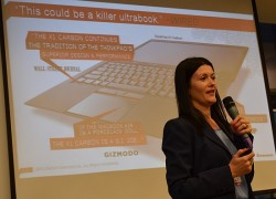 Diana Georgescu, Lenovo prezinta ThinkPad X1