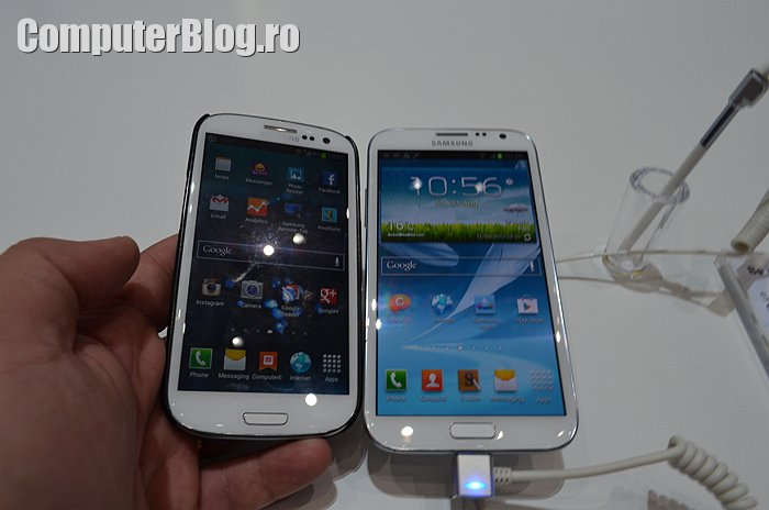 Samsung Galaxy S3 vs Galaxy Note II