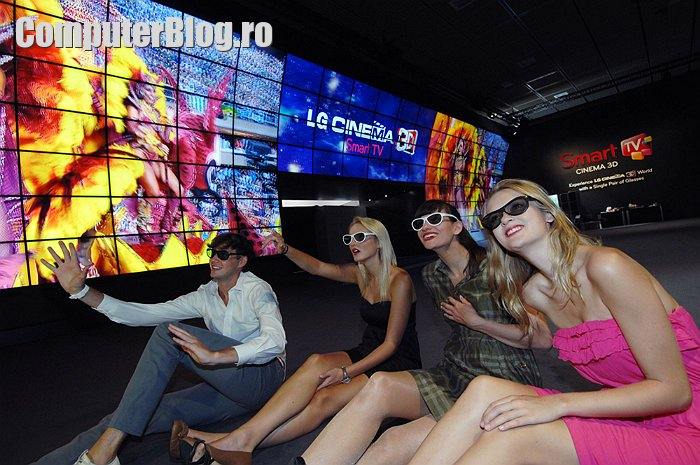 LG 3D video wall