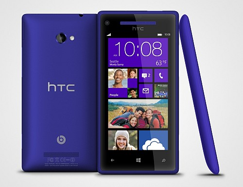 WP 8X HTC