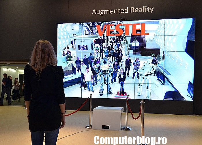 Vestel - Augmented Reality video wall