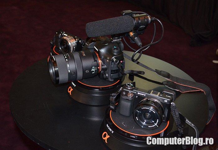 Sony Alpha 99, Nex 6 și Nex 5R