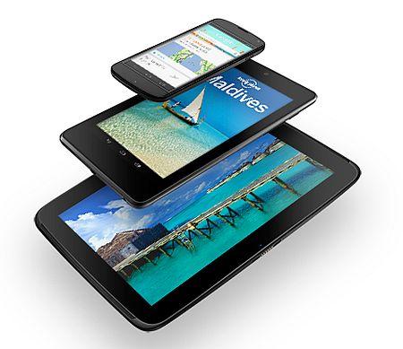 Google Nexus 4 / 7 / 10