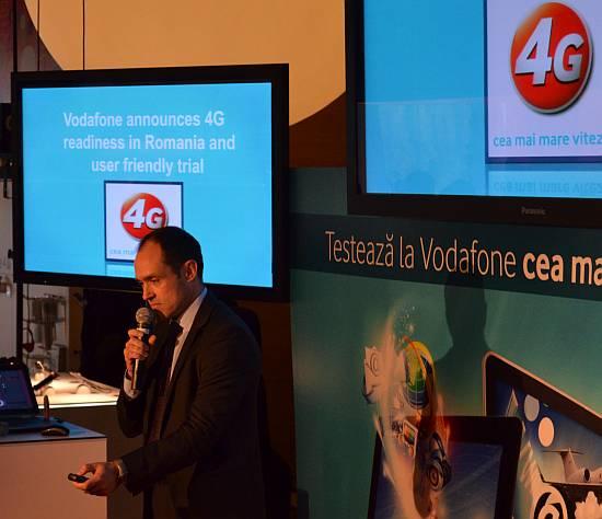 Inaki Berrota Vodafone Romania