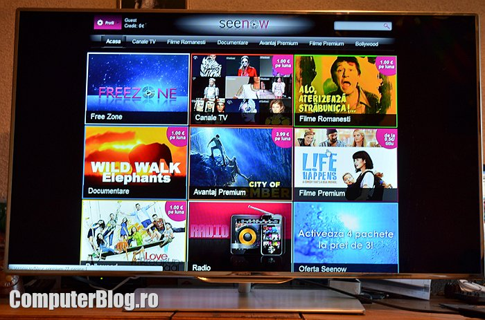 Philips seria 7000 Smart TV