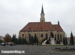 Cluj - Piata Unirii - fotografiata cu Galaxy Note II