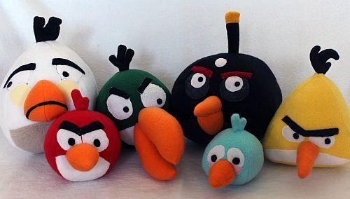angry birds jucarii